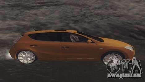 Hyundai i30 para GTA San Andreas left