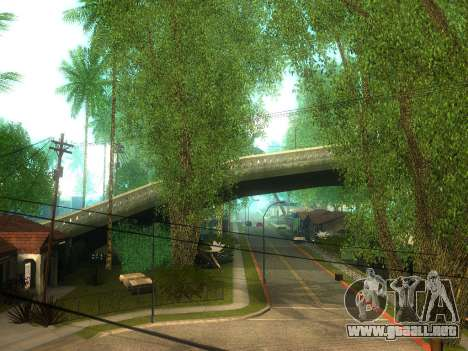 New Grove Street v2.0 para GTA San Andreas