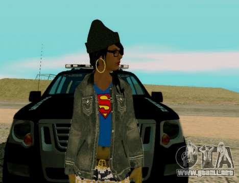 Girl Swagg para GTA San Andreas