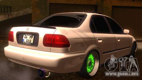 Honda Civic JDM para GTA San Andreas left