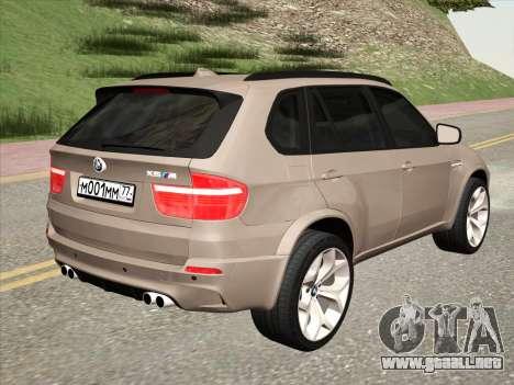BMW X5M E70 2010 para la visión correcta GTA San Andreas