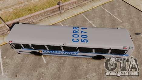 Brute Bus Corrections [ELS] para GTA 4 visión correcta