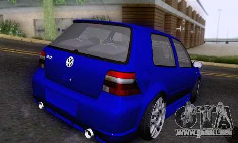 Volkswagen Golf R32 para visión interna GTA San Andreas
