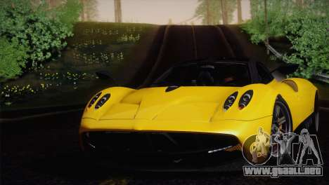 Pagani Huayra para la visión correcta GTA San Andreas