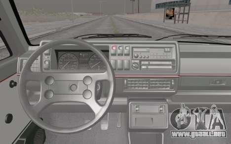 Volkswagen Golf Mk 2 para la visión correcta GTA San Andreas