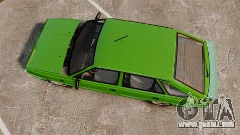 FSO Polonez Caro 1.4 GLI 16V para GTA 4 visión correcta