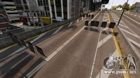 Трек-El Desafío Aceptado- para GTA 4 tercera pantalla