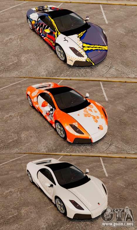 GTA Spano para GTA 4 interior