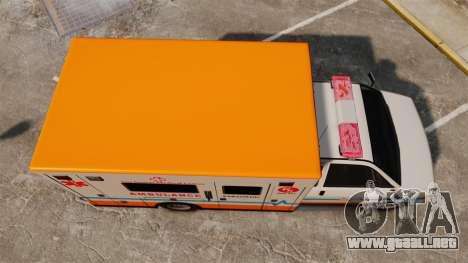 Brute LSMC Paramedic para GTA 4 visión correcta