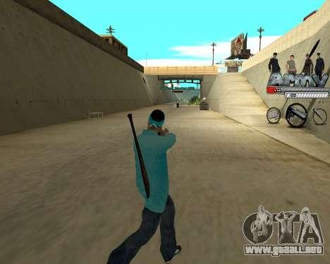 Ampliadora rango de nicks para GTA San Andreas segunda pantalla