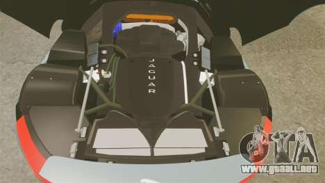 Jaguar C-X75 2014 [EPM] para GTA 4 vista interior