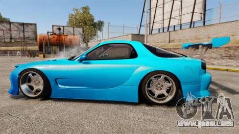 Mazda RX-7 Super Edition para GTA 4 left