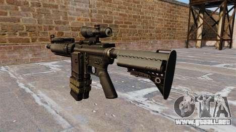 Automático de la carabina M4 para GTA 4 segundos de pantalla