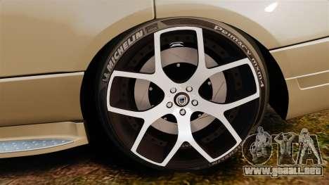Range Rover Supercharger 2008 para GTA 4 vista hacia atrás