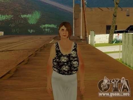 Una mujer de edad avanzada v.2 para GTA San Andreas