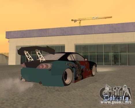 Nissan 150sx Evil Empire para GTA San Andreas left