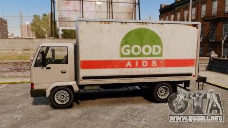 Mula con un nuevo anuncio para GTA 4 vista interior
