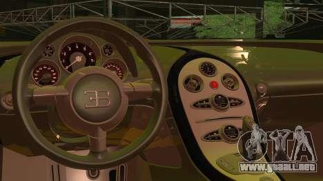 Bugatti Veyron 2009 para la visión correcta GTA San Andreas