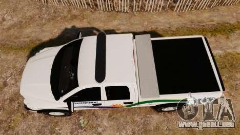 Dodge Ram 2500 2006 DACS [ELS] para GTA 4 visión correcta