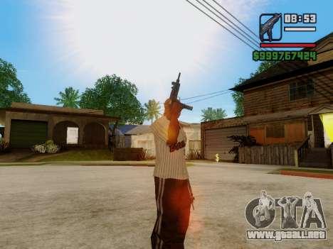 La subametralladora UZI para GTA San Andreas séptima pantalla