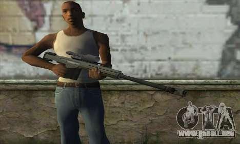 GTA V Heavy sniper para GTA San Andreas tercera pantalla