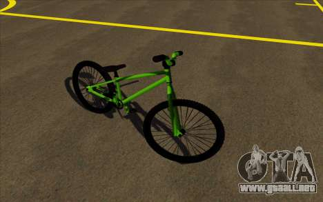 Street MTB bike para GTA San Andreas left