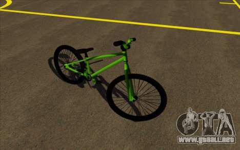 Street MTB bike para GTA San Andreas left