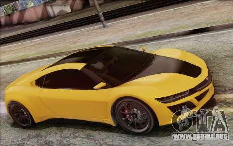GTA V Dinka Jester IVF para GTA San Andreas