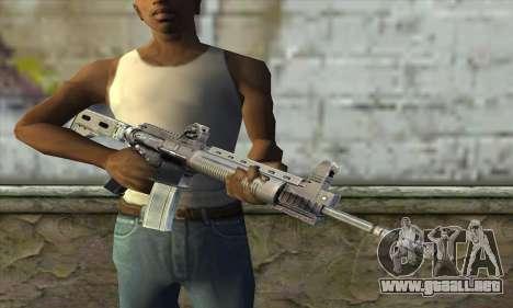 M4A1 из S.T.A.L.K.E.R. para GTA San Andreas tercera pantalla