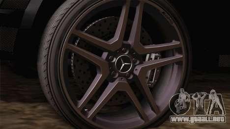 Mercedes-Benz ML63 para la visión correcta GTA San Andreas