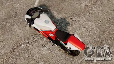 GTA IV TBoGT Pegassi Bati 800 para GTA 4 Vista posterior izquierda