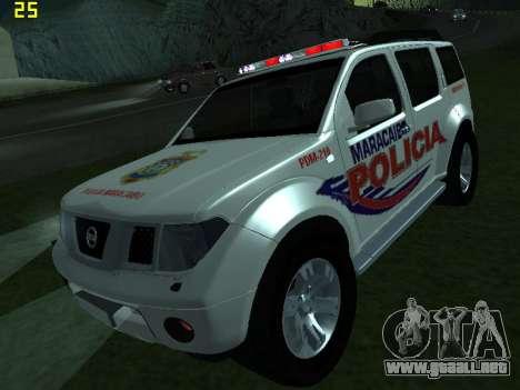 Nissan Pathfinder Polimaracaibo para GTA San Andreas