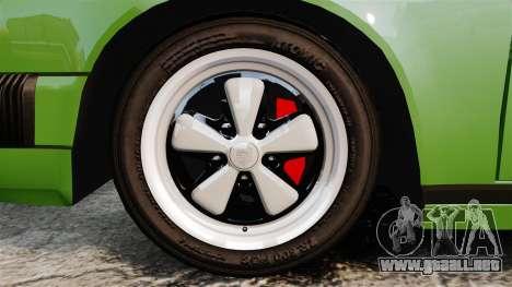 Porsche 911 Targa 1974 para GTA 4 vista hacia atrás
