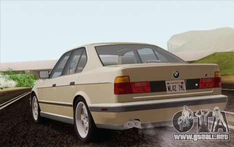 BMW M5 E34 1991 NA-spec para GTA San Andreas left
