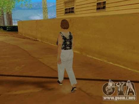 Una mujer de edad avanzada v.2 para GTA San Andreas séptima pantalla