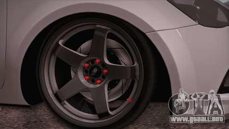 Kia Ceed 2011 para GTA San Andreas vista posterior izquierda