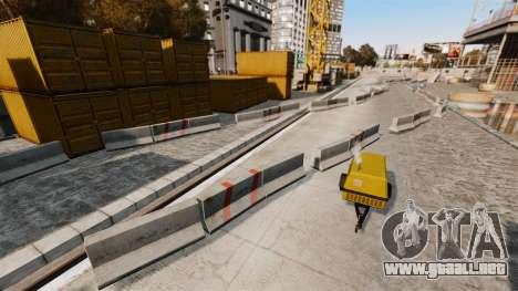 Off-road de pista para GTA 4 octavo de pantalla