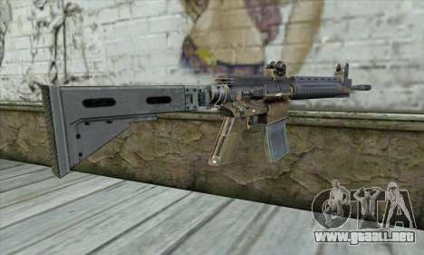 M4A1 из S.T.A.L.K.E.R. para GTA San Andreas segunda pantalla