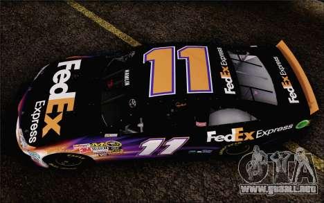 Toyota Camry NASCAR Sprint Cup 2013 para la visión correcta GTA San Andreas