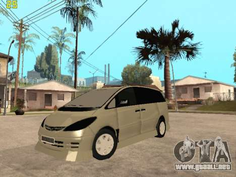 Toyota Estima Altemiss 2wd para GTA San Andreas