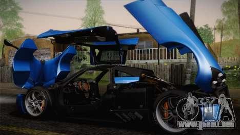 Pagani Huayra para el motor de GTA San Andreas
