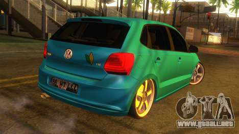 Volkswagen Polo para GTA San Andreas left