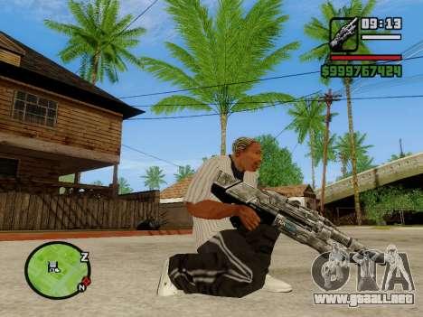 M-86 Sabre v.2 para GTA San Andreas tercera pantalla