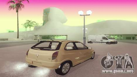 Suzuki Fun para GTA San Andreas vista posterior izquierda