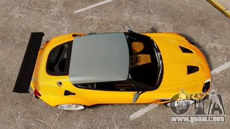 Aston Martin V12 Zagato para GTA 4 visión correcta