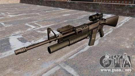 Táctica rifle M16A4 para GTA 4 tercera pantalla
