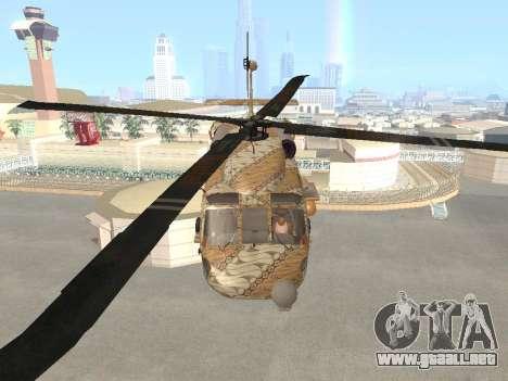 SH-60  Batik Indonesia para visión interna GTA San Andreas