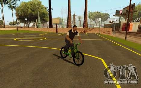 Street MTB bike para la visión correcta GTA San Andreas
