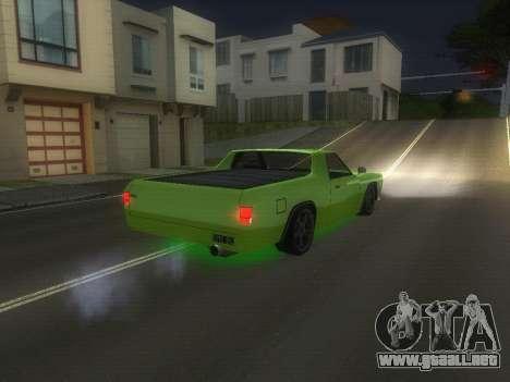 Drag Picador v1 para GTA San Andreas vista posterior izquierda