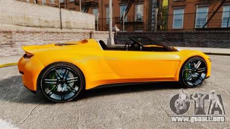 GTA V Dinka Jester HD para GTA 4 left